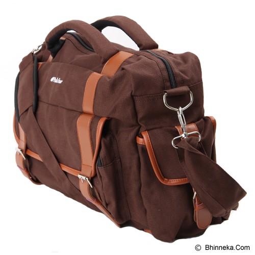 PULCHER Crux series [H-03] - Brown - Sling-Bag Pria